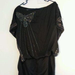 Foley + Corinna Butterfly Mini Dress Small